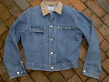 vintage POLO RALPH LAUREN Denim Jacket Men's LARGE Dungarees Trucker