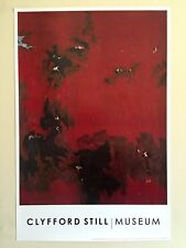 """CLYFFORD STILL ABSTRACT EXPRESSIONIST ORIG LITHOGRAPH PRINT POSTER """"PH 385"""" 1949"""