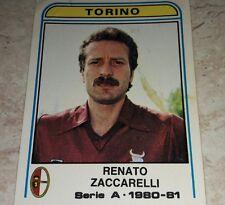 FIGURINA CALCIATORI PANINI 1980/81 TORINO ZACCARELLI N° 295 ALBUM 1981