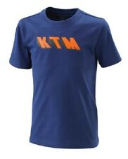KTM T-SHIRT BAMBINO KIDS  RADICAL TEE BLUE 3PW200023106 SIZE 128/S