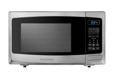 Microwaves - Insignia 0.9 Cu. Ft. Compact, Stainless steel