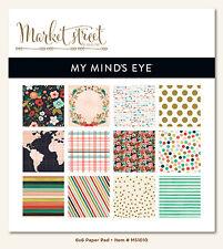 My Minds Eye MME Market Street Ashbury Heights Design 6x6 Paper Pad
