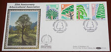 1990 Kew Gardens Benham Silk First Day Cover  BLCS54
