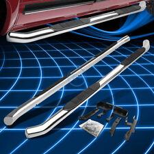 "Chrome Stainless 3"" Side Step Nerf Bar for 2010-2016 Chevy Equinox/GMC Terrain"