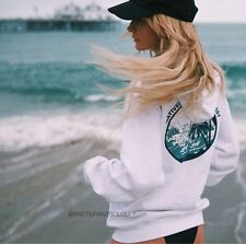 Last One! Brandy Melville Natives Of The Golden Coast Hoodie Sweatshirt Nwt
