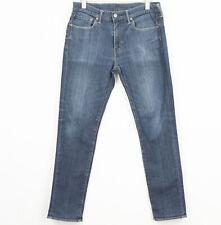 Levi Strauss & Co 511 Slim Fit Jeans Stretch Cotton Elastane Men Size W34 L32