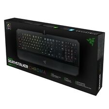 RAZER DEATHSTALKER CHROMA Gaming RGB Backlit Keyboard RZ03-01500200-R3M1 (F17)