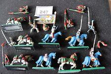 Warhammer elfos alto montado figuras de metal fuera de imprenta Trabajo Lote Clásico Fantasía 1990s