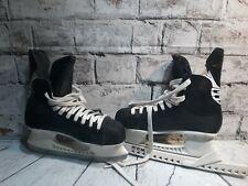 Bauer Impact 75 ice hockey skates size 7R size 6.5 Black white