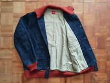Full Count A-1 Style Denim Flight Jacket tag 40 Made in Japan