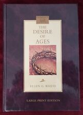 Ellen G White Desire of Ages 2005 Large Print Edition HB Book Pacific Press SDA
