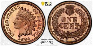 1864 Indian Cent Proof PCGS PR65RD CAM