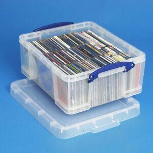 Really Useful Box 18 Liter - für 93 CDs / 44 DVDs, Sammelalben, Fotoalben