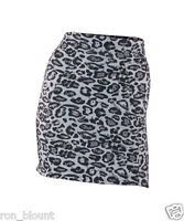 Plus Size Ex Ann summers Multi Control Skirt Polyamide Leopard Print  Size 14-20