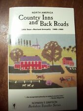 Country Inns and Back Roads : North America, 1989-1990 by Norman T. Simpson...