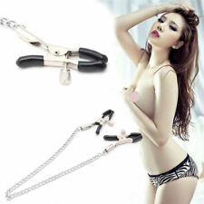 Metal Nipple Clamps With 30cm Chains Nipples Clips Adult Games Couples Sex Toys