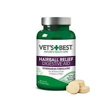 Vet'S Best Cat Hairball Relief Digestive Aid  Vet Formulated Hairball Support