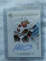 2017-18 UD Alex Debrincat Future Watch Auto 588/999