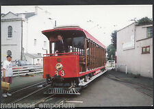 Tram Postcard - Manx Transport - Car No 33 at Ramsey 1995 -  A8063