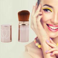 Retractable Professional Make Up Brush Blush Foundation Brushes Cosmetic Tools