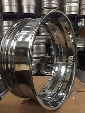 24x10 Chrome Barrel With 4 Inch Lip 40 Hole, Forgiato,Asanti,HRE,ect.