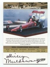 Shirley Muldowney Signed Press Pass Legends Gold Autographed Trading Card #25