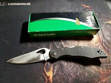 Byrd Cara Cara 2 Folding Knife Used G10