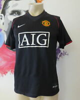 Vintage Manchester United 2007 2008 away shirt Nike football jersey size S
