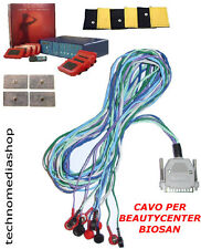 ^btd Biosan Beauty center elettrostimolatore Fili Filo ricambio cavo x elettrodi