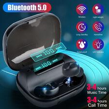 Waterproof Wireless Earphones Bluetooth 5.0 Headset Tws Stereo Earbuds Headphone