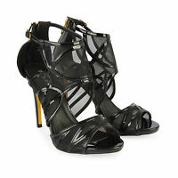 Womens Ladies Cutout High Heel Party Bridal Platform Sandals Girl Shoes Size3-8
