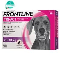 FRONTLINE TRI-ACT 20-40 Kg - Antiparassitario per cani di taglia medio-grande