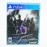 Resident Evil 6: Playstation 4 [Brand New] PS4