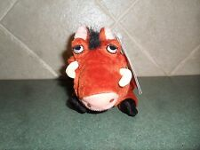 Disney Store Plush Bean bag Beanie NWT Lion King Pumbaa Pumba Wart Hog