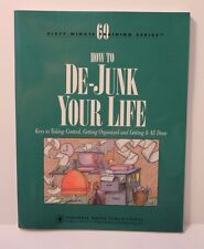 How To De-Junk Your Life - Paperback Book National Press Publications Organizing