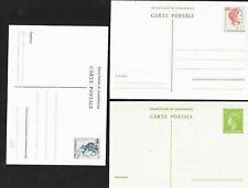 Luxemburg 1949 + 1963 - 3 Postkarten - ungebraucht neu