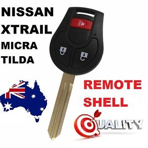 Replacement Remote car key suitable for Nissan  Tiida X Trail Micra K12 T31