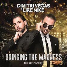 DIMITRI & LIKE MIKE VEGAS - BRINGING THE MADNESS  2 CD NEUF