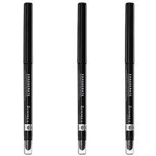 NEW Rimmel Exaggerate Eye Definer Blackest Black 0.01 Ounces (3 Pack)