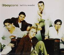 BOYZONE CD Isn't It A Wonder IRISH 3 Track 1997 Experiencia Religiosa / Get Up