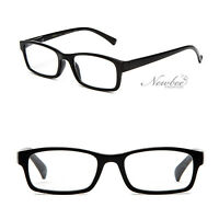 fe1d232d4da Clear Lens Fashion Glasses Simple and Stylish No Logo Solid Thin Frame  Unisex