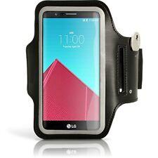 ARMBAND Brazalete de deporte Samsung LG NEXUS 4 E960 negro cinta brazo sport