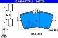 Bremsbelagsatz, Scheibenbremse für Bremsanlage Vorderachse ATE 13.0460-2708.2