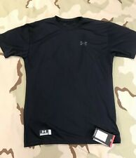 1005384 Under Armor Tactical Shirt Loose Fit Black Small