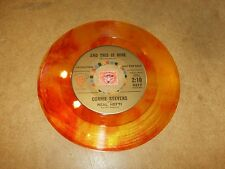 CONNIE STEVENS - AND THIS IS MINE - MAKE  / LISTEN - TEEN GIRL - COLORED VINYL