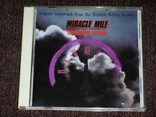 Tangerine Dream Miracle Mile Soundtrack Japan CD