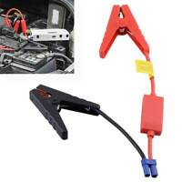Car Emergency Lead Cable 12V Battery Alligator Clamp Clip Connector Jump Starter