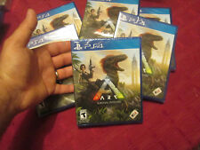 Ark: Survival Evolved PS4 Sony PLAYSTATION 4 2017 NEW FACTORY SEALED DINOSAURS