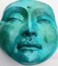 Original Buddha Collectible Sculpture, Jade, Calming Wall Art, Feng Shui Decor