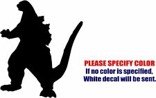 "Godzilla Graphic Die Cut decal sticker Car Truck Boat Window Bumper Laptop 6"""